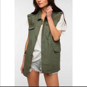 BDG studded vest
